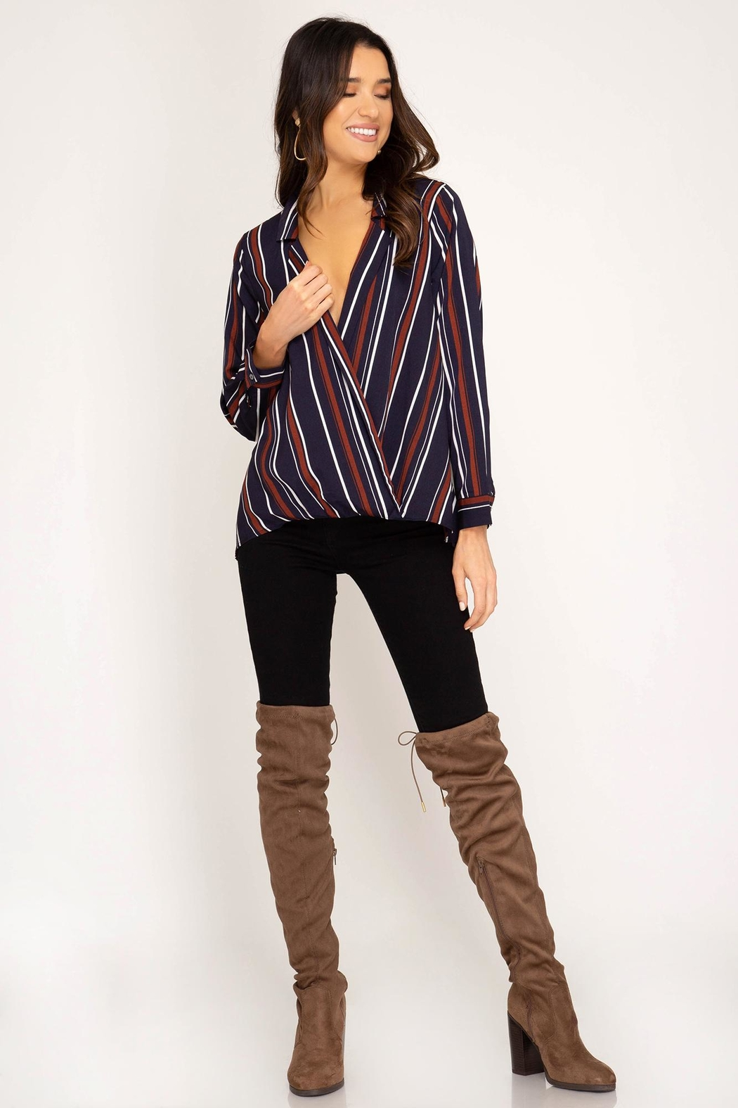 Unknown Factory Fall Blouse - Main Image