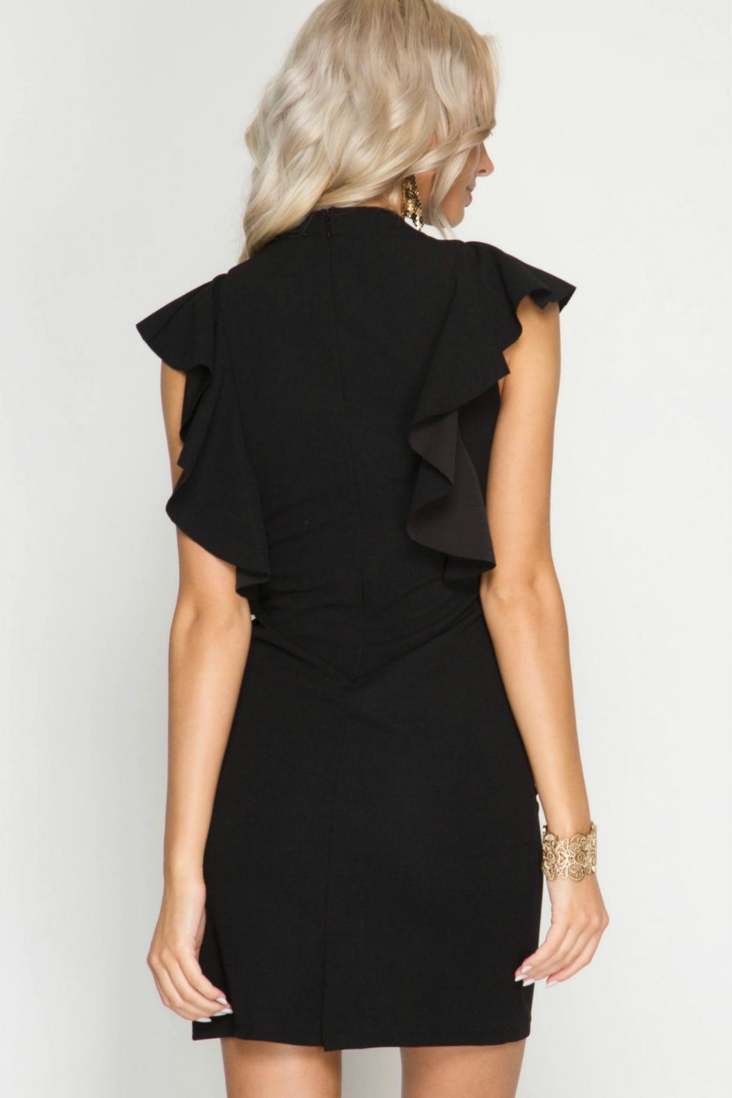 Unknown Factory Black Fall  Dress - Front Full Image