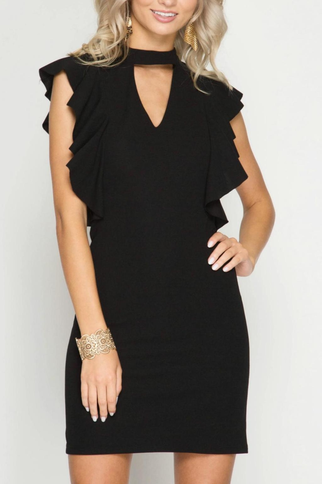 Unknown Factory Black Fall  Dress - Main Image