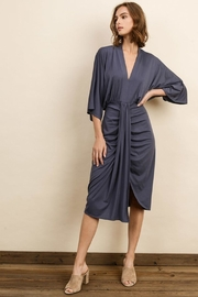 Unknown Factory Fall Satin Dress - Product Mini Image