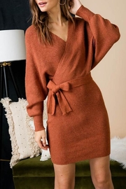 Unknown Factory Fall Sweater Dress - Product Mini Image