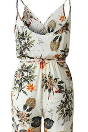 Unknown Factory Floral Print Jumpsuit - Front full body