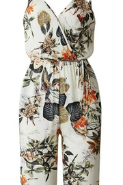 Unknown Factory Floral Print Jumpsuit - Product Mini Image