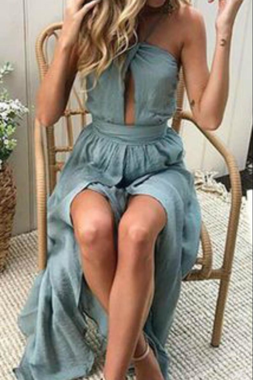 Unknown Factory Halter Dress - Main Image