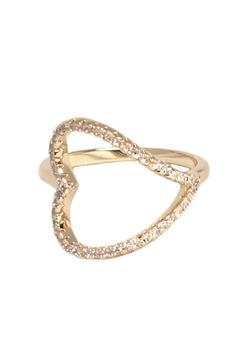 Unknown Factory Heart Ring - Alternate List Image