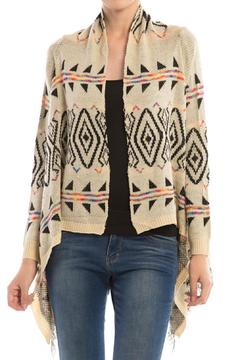 Diosa High/low Knit Cardigan - Product List Image
