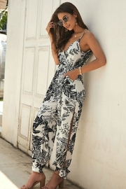 Unknown Factory Jumpsuit Open Leg - Front cropped