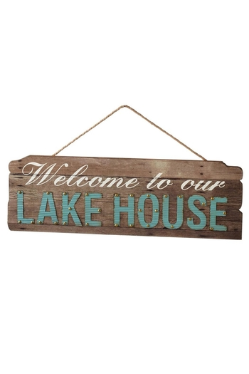 Unknown Factory Lake House Sign - Main Image