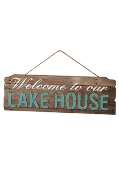 Shoptiques Product: Lake House Sign