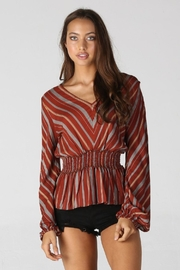Unknown Factory Long Sleeve Blouse - Product Mini Image