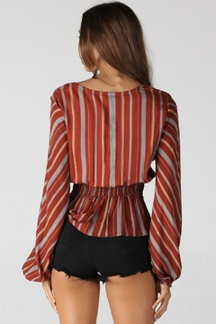 Unknown Factory Long Sleeve Blouse - Alternate List Image