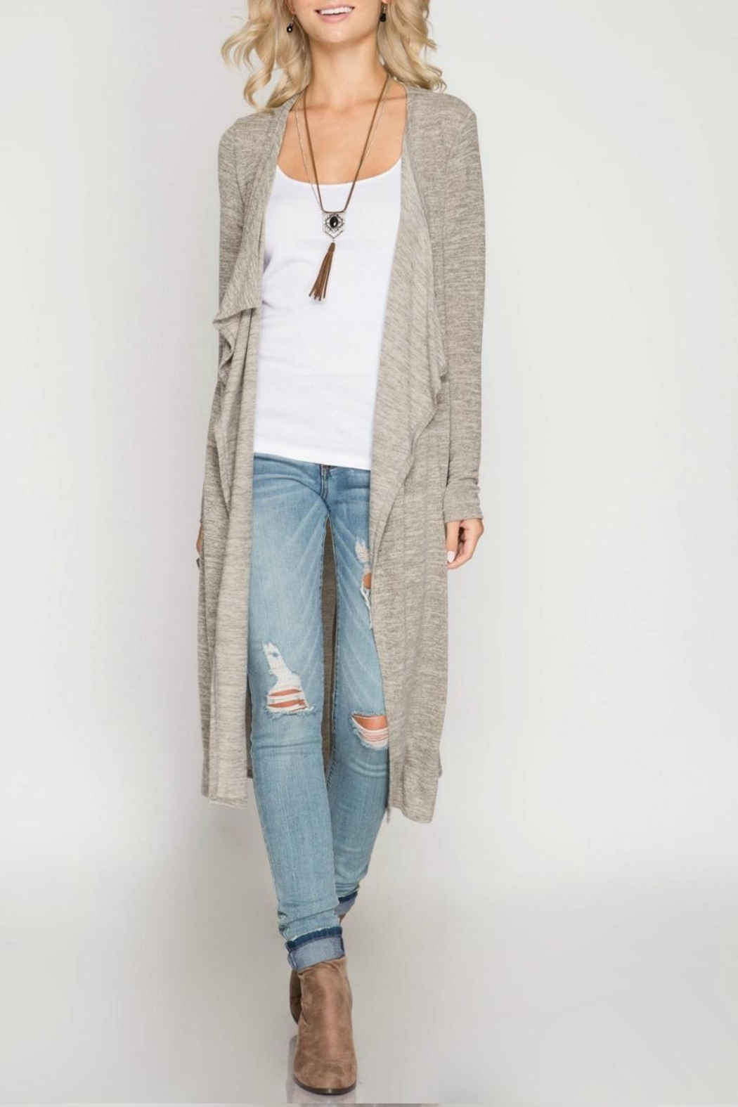 Unknown Factory Long Sleeve Cardigan - Main Image