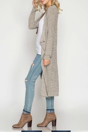 Unknown Factory Long Sleeve Cardigan - Front full body