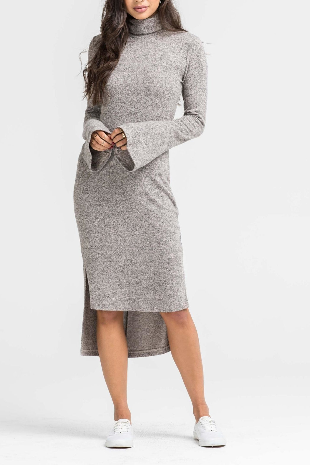 Unknown Factory Longsleeve Turtleneck Dress - Main Image