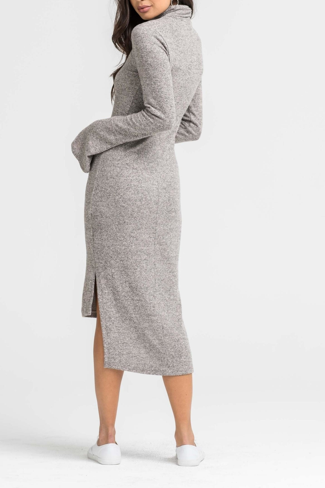 Unknown Factory Longsleeve Turtleneck Dress - Front Full Image