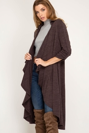 Unknown Factory Mauve Duster - Front cropped
