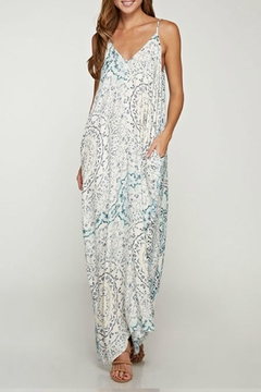 Shoptiques Product: Maria Printed Maxi Dress