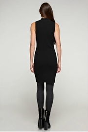 Unknown Factory Mock Turtleneck Dress - Side cropped