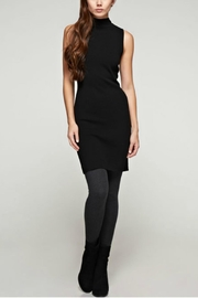 Unknown Factory Mock Turtleneck Dress - Front cropped