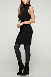 Unknown Factory Mock Turtleneck Dress - Front full body