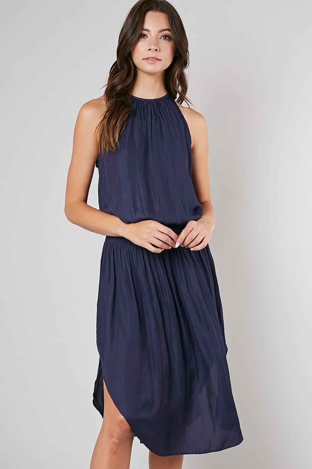 Unknown Factory Navy Dress - Main Image