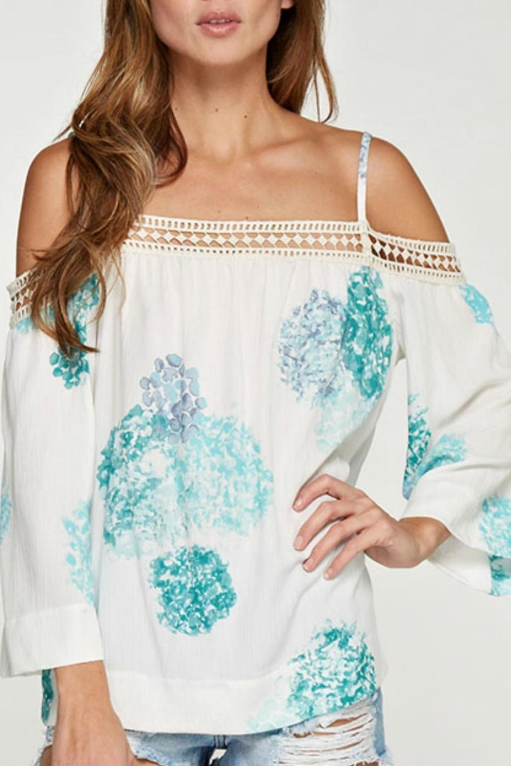 Unknown Factory Off Shoulder Blouse - Main Image