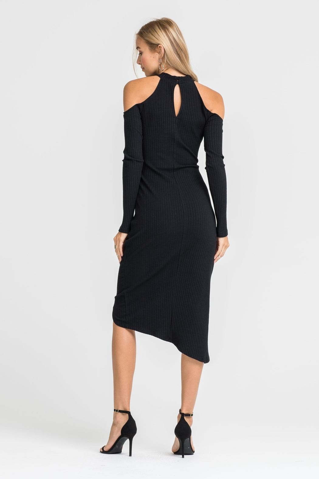 Unknown Factory Off  Shoulder Dress - Front Full Image
