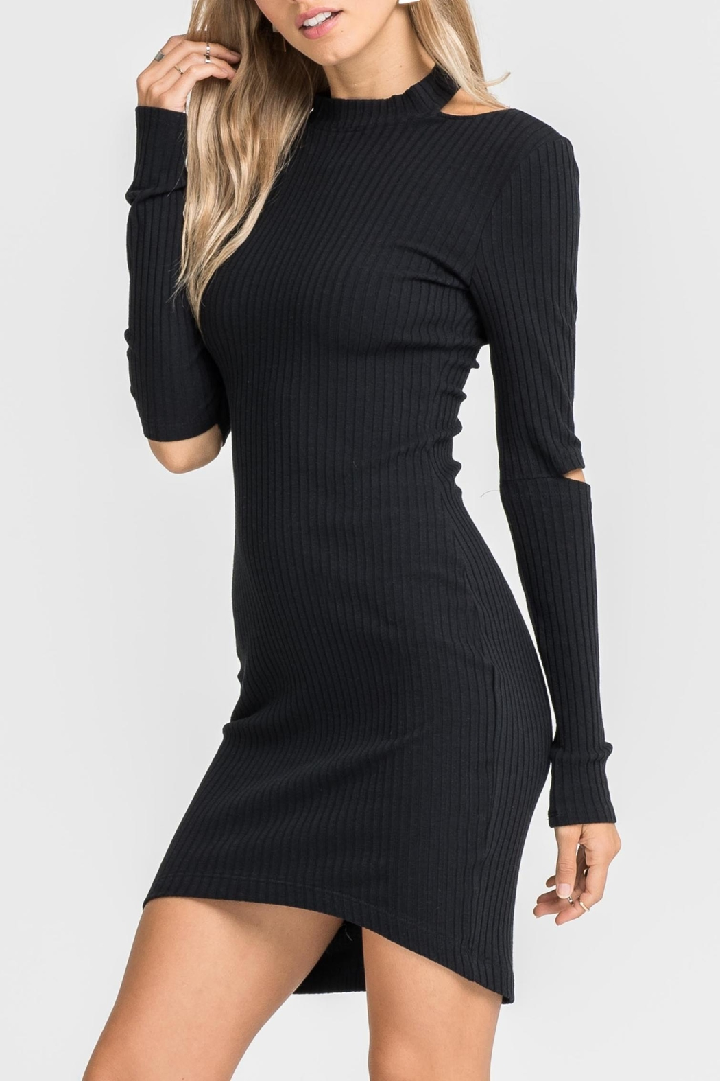 Unknown Factory Black Sweater Dress - Main Image