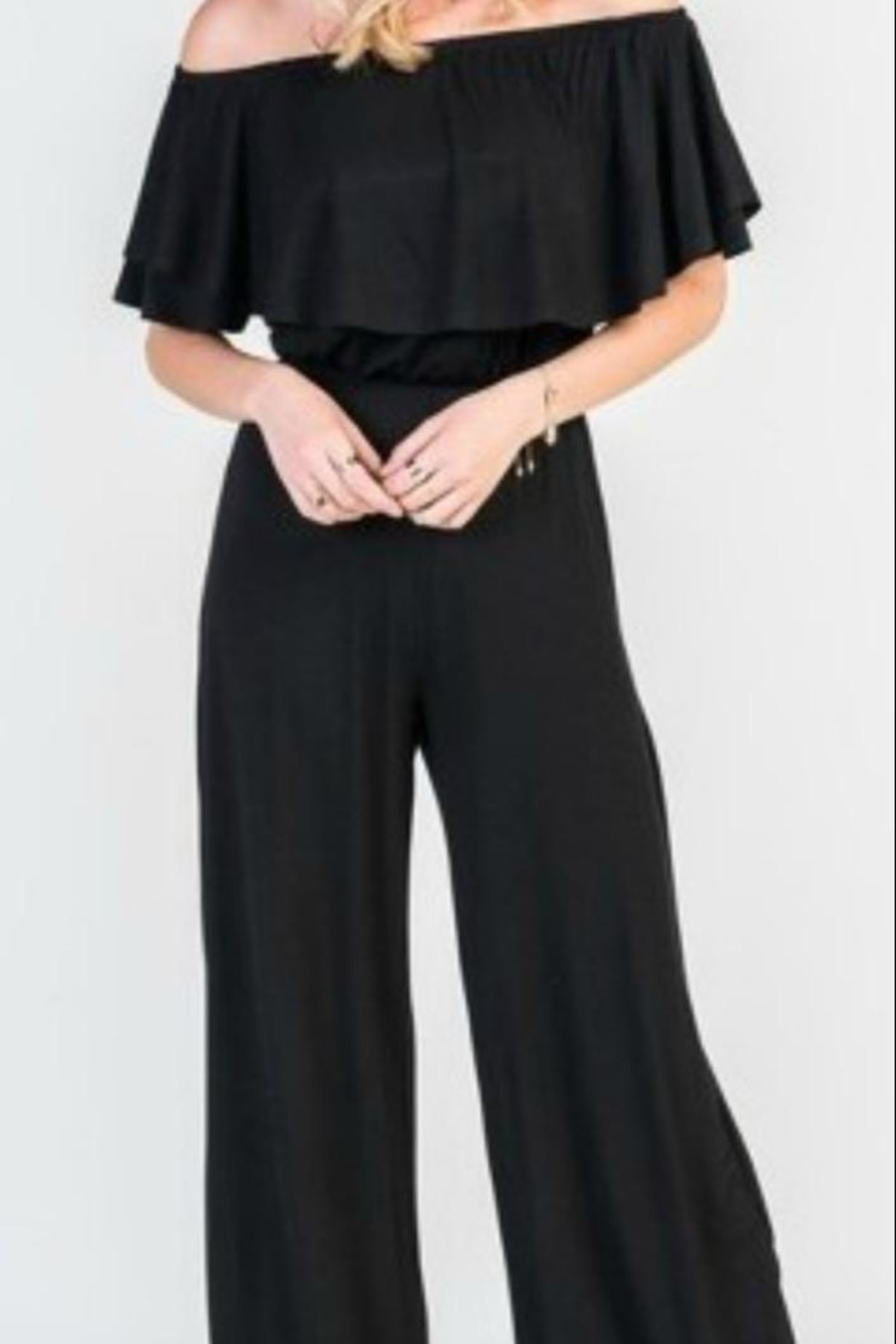 Unknown Factory Off Shoulder Jumpsuit - Front Full Image