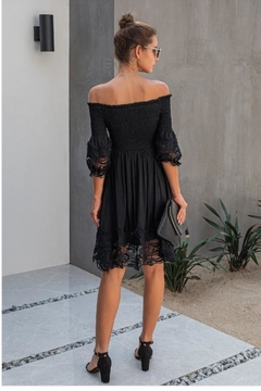 Unknown Factory Off Shoulder Lace - Alternate List Image