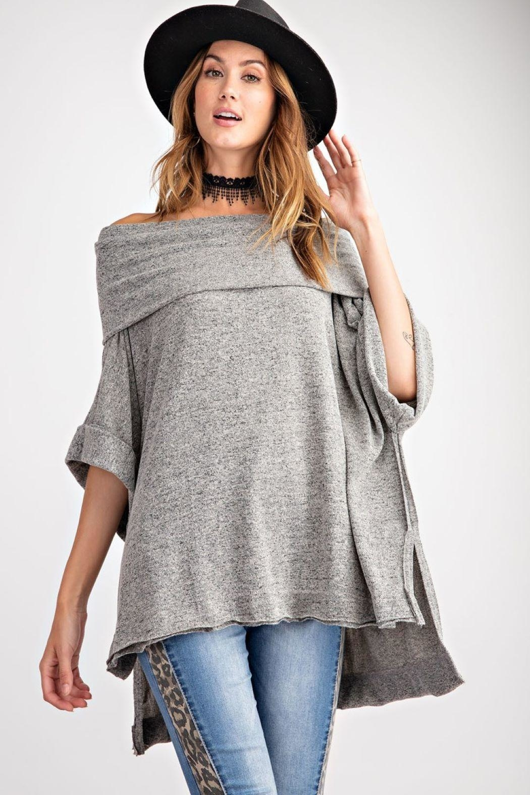 Unknown Factory Off Shoulder Sweater - Main Image