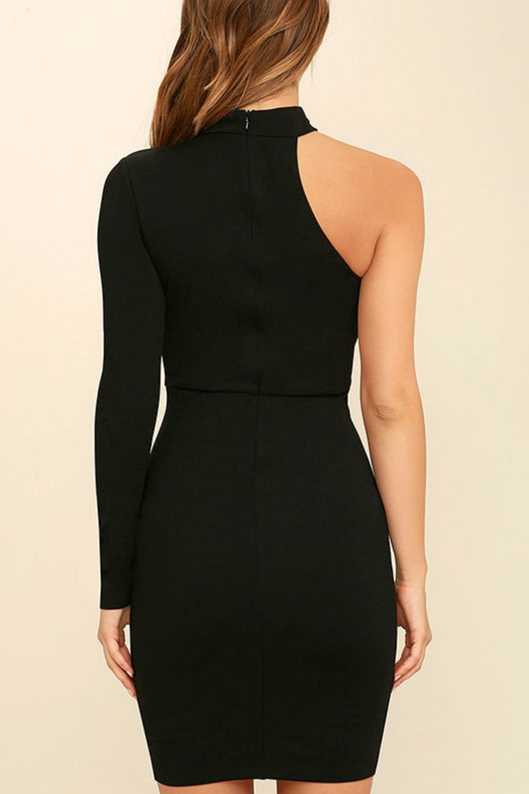 Unknown Factory One Shoulder Dress - Side Cropped Image
