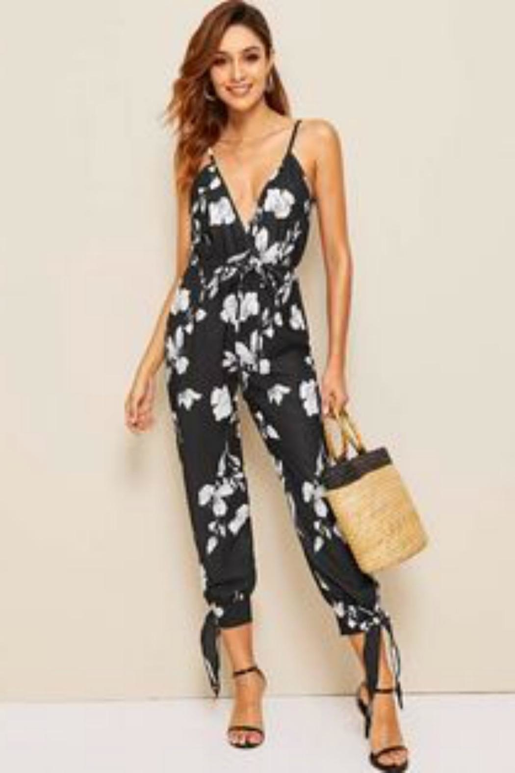Unknown Factory Open Leg Jumpsuit - Front Cropped Image