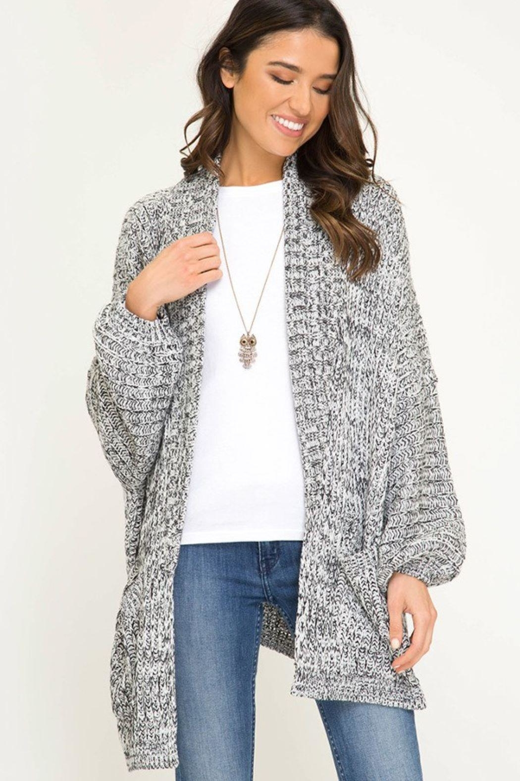 Unknown Factory Over Sized Cardigan - Main Image