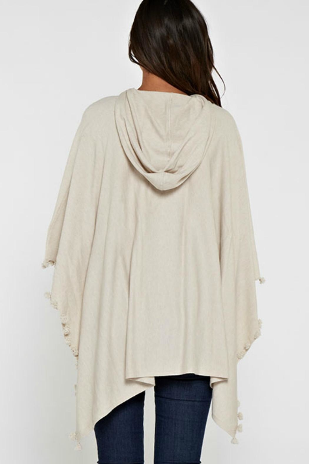 Unknown Factory Elle Poncho - Side Cropped Image