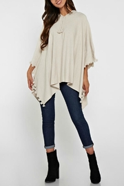 Unknown Factory Elle Poncho - Front cropped