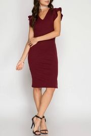 Unknown Factory Rafa Bodycon Dress - Front cropped