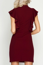 Unknown Factory Ruffled Dress - Front full body