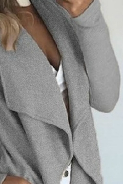 Unknown Factory Ruffled Coat - Alternate List Image