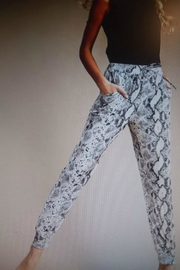 Unknown Factory Snake Skin Joggers - Product Mini Image