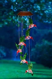 Unknown Factory Solar Hummingbird Mobile - Product Mini Image