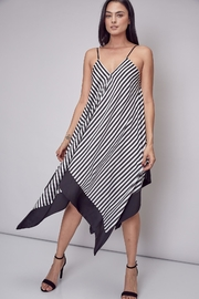 Unknown Factory Stripe Handkerchief Maxi - Front cropped