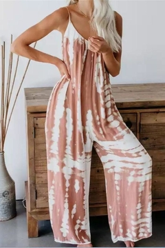 Unknown Factory Tye Dye Jumpsuit - Product List Image