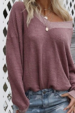 Shoptiques Product: v Neck Sweater