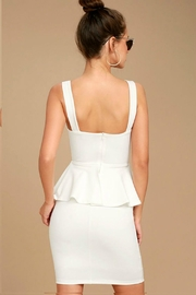 Unknown Factory White Dress - Front full body