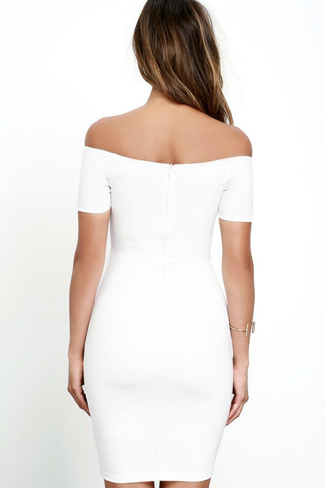 Unknown Factory White Dress - Front Full Image