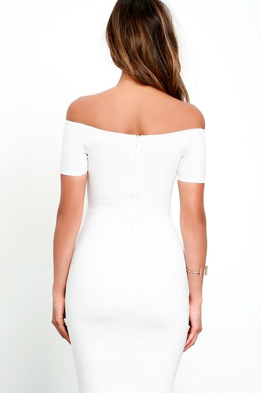 Unknown Factory White Dress - Side Cropped Image