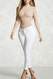 Unknown Factory White Jeans - Front cropped