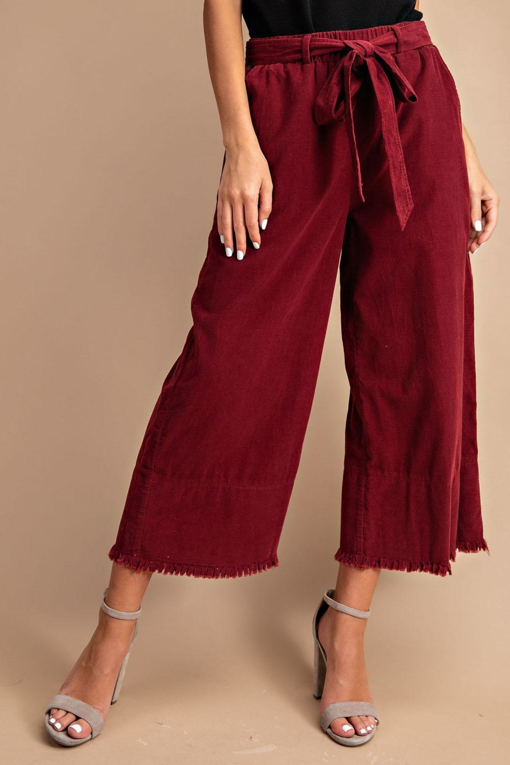 Unknown Factory Wide Leg Pants - Side Cropped Image