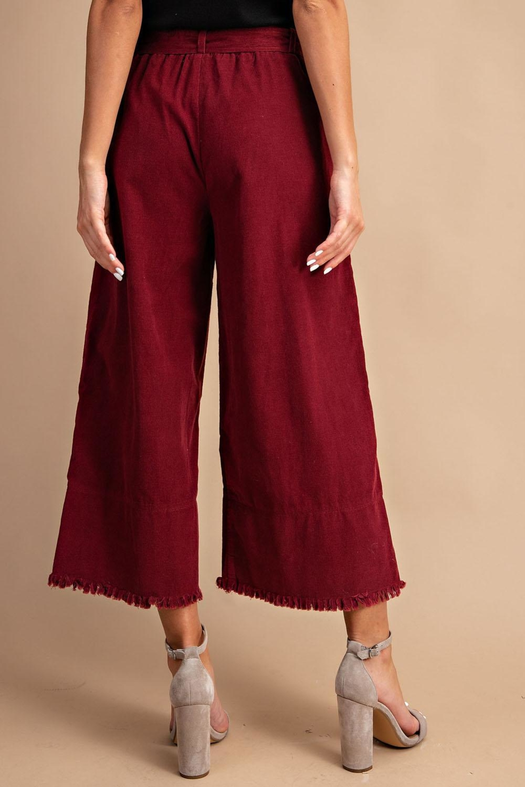 Unknown Factory Wide Leg Pants - Front Full Image